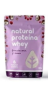 Proteína Vegana de Frambuesa y Fresa - Natural Athlete - 75 ...