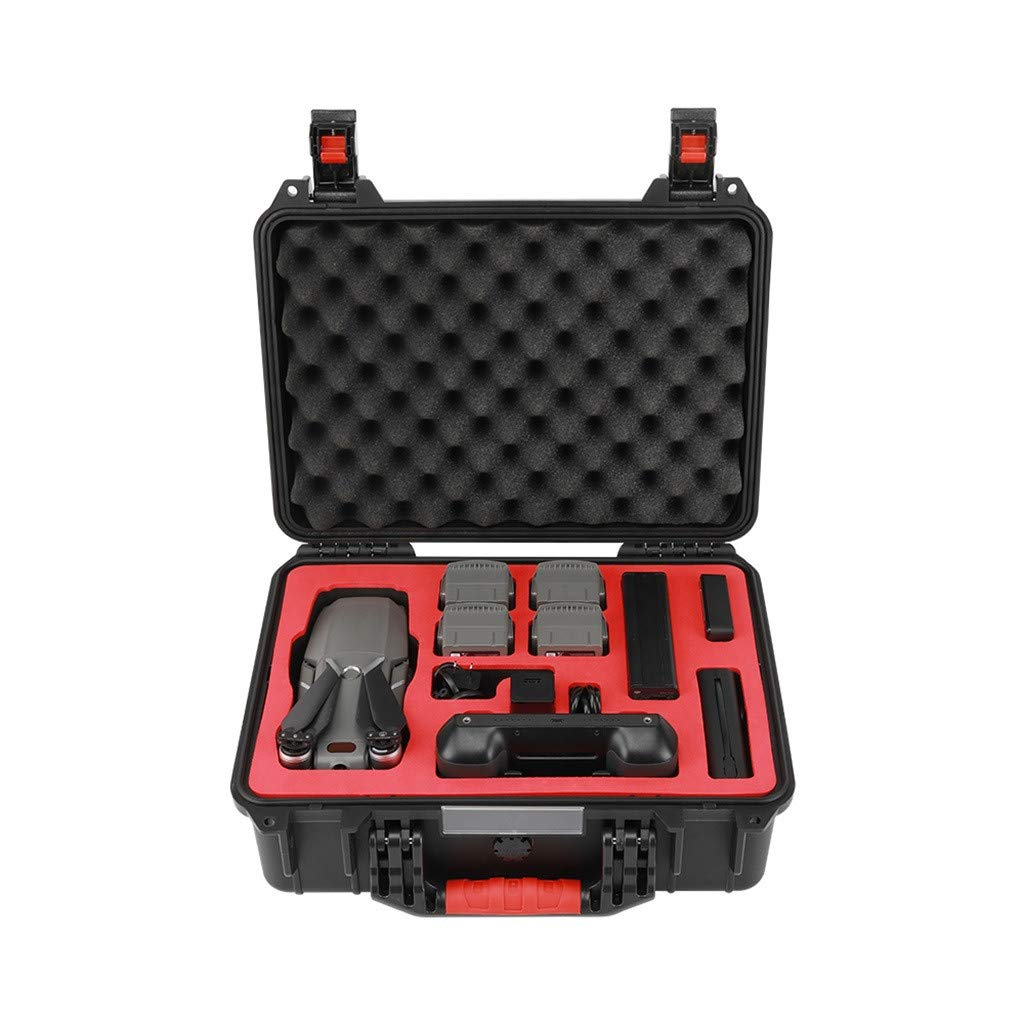MOZATE PGYTECH Hardshell Shockproof Case Box Suitcase Bag for DJI Mavic 2 &Smart Controller (Black)