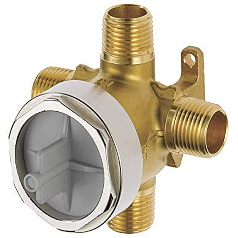 Diverter Rough in Valve for Delta R11000 3/6 Setting by Wood Grip