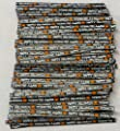 """Happy Halloween Paper Twist Ties 100 Count 3 1/2"""" Length Candy Making Supplies"""