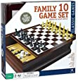 Cardinal Family 10-Game Center in Wood Case