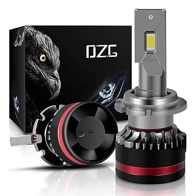 DZG D2S D2R D4S D4R LED Headlight Bulbs 6000K Bright White 2 Yr Warranty, 2 Pack: Automotive