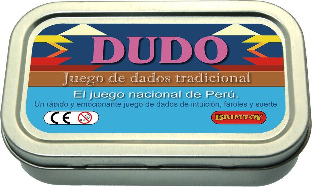 Juego de dados peruano de bolsillo / viaje. El juego de los Dados del Mentiroso de Perú.: Amazon.es: Juguetes y juegos
