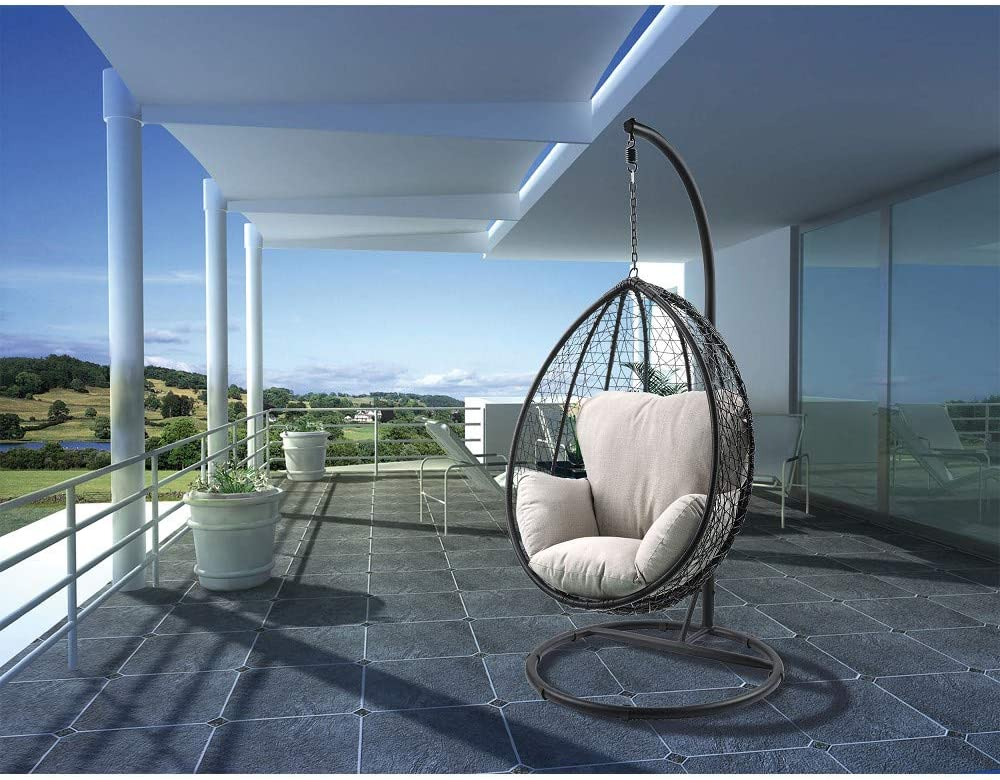 Amazon coupon code for Egg Chair Steel Frame Swing Chair in Door