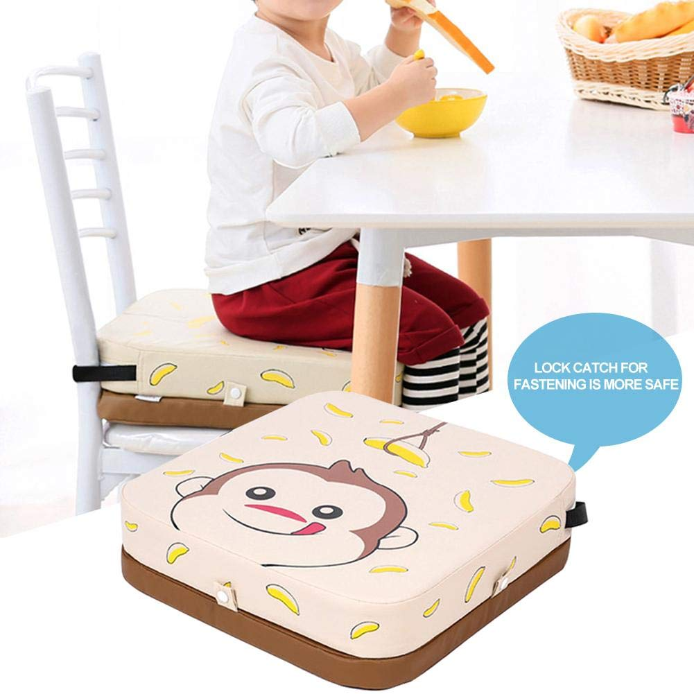 Coussin de Rehaussement de Chaise de Salle /à Manger pour Coussin de Chaise Imperm/éable Antid/érapant pour Enfants avec Hauteur R/églable