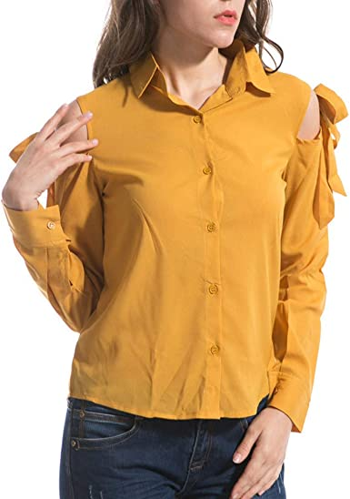 Qingsiy Blusa Sexy Mujer Camisetas De Verano De Mujeres Blusas para Mujer con Hombros Descubiertos Camisola Cami Tops Crop Tops Chaleco Camiseta S-6xl: Amazon.es: Ropa y accesorios
