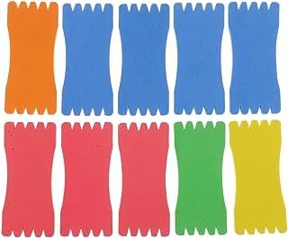 Homyl 10Pcs Planche Plaque de Voile Mousse Plank Planche à Voile Enroulé Fil de Fer