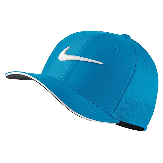 3979f460dd3 Nike Classic 99 Mesh Golf Cap 2017 Blue Fury White Anthracite Medium Large   Amazon.in  Clothing   Accessories