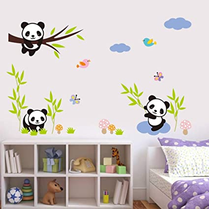 Amazon.com: Wall Stickers - for Kids Room Cartoon Gift Child ...