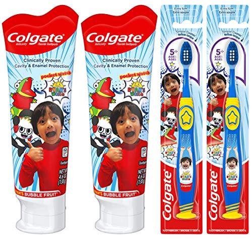 Colgate Toothpaste Toothbrush Ryans World