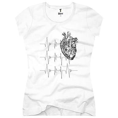T-Shirt Women T-Shirt Herz-Anatomie: Amazon.de: Bekleidung