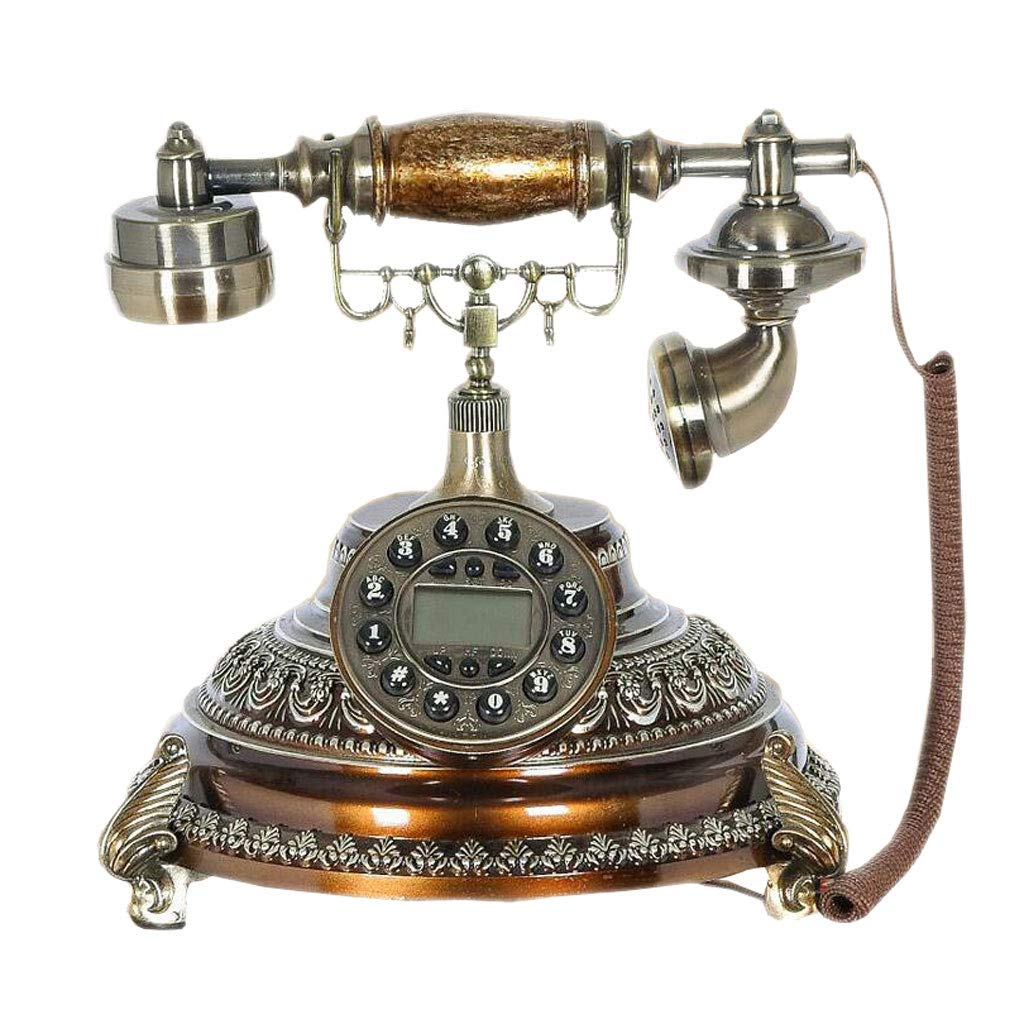 American Classical Living Room European Antique Telephone Decoration Antique Telephone Creative Display Desktop Office Phone by LCM