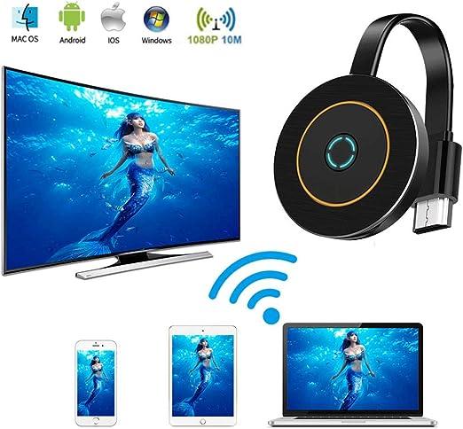 POWERFULM Wireless Display Adapter, 4K HD Stick de TV 5 GHz Video ...