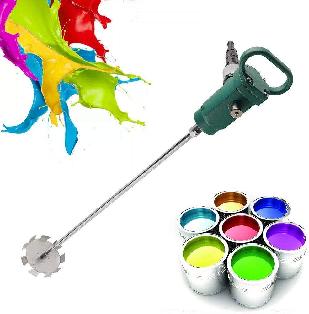 1/2HP 50 Gallon Pneumatic Bracket Mixer, Stirring Machine, Tank Barrel Air Mix Clip Paint Blender, for Paint Cement Concrete Mortar Dope (2500RPM)