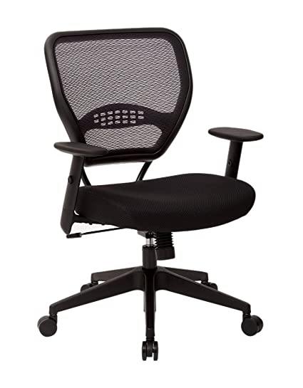 amazon com office star space airgrid back managers office chair