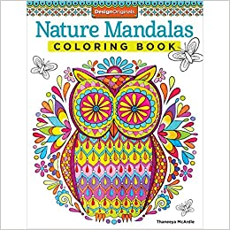 Nature Mandalas Coloring Book Design Originals Thaneeya McArdle