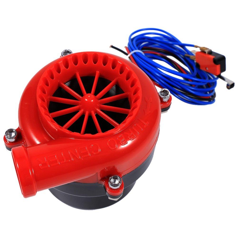 Turbo Electr/ónica de Sonido Anal/ógica V/álvula de Descarga Falsa para Coche Universal
