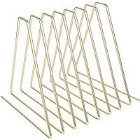 Revistero de Metal Triangular Rainay, 7 Ranuras multifunción