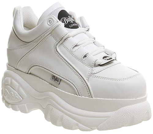 Sneaker Buffalo Soft Blanco 01 Taglia 41 - Colore Bianco: Amazon.es: Zapatos y complementos