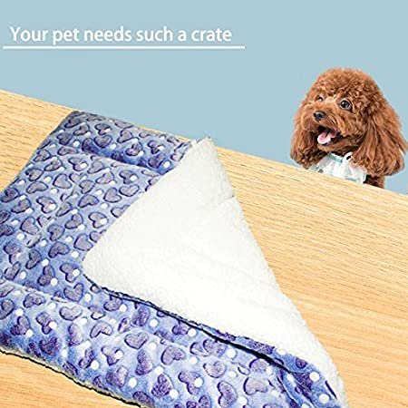 30 x 20 HUALAN Pet Crate Mattress Dog//Cat Cage Mat Cusion Washable Kennel Pads