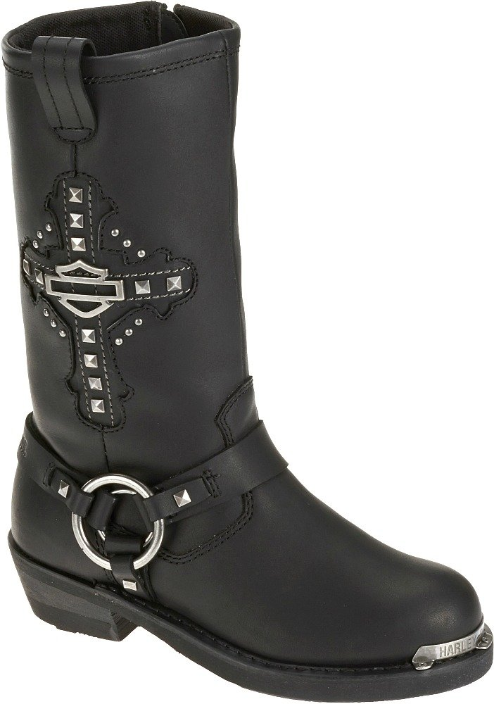 Harley-Davidson Women's Mila Motorcycle Riding Boots - D87062 (Size 7)