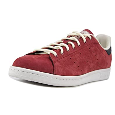 buy online ff827 8bc4c adidas Stan Smith in Rust Red/Black/White