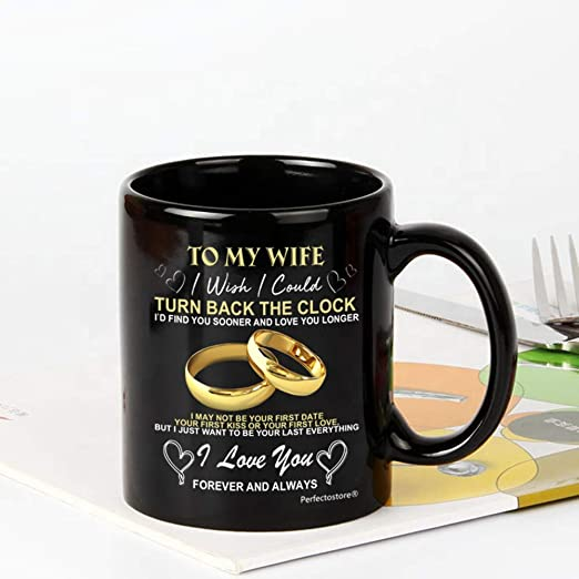 Amazon Com To My Wife I Wish I Could Turn Back Clock Christmas Presents Gifts Idea For Her Birthday Gifts Best Wedding Anniversary Gift For Women Husba N D Him Co Ffee Mug 11oz Kitchen,Free Kitchen Design Software Online Australia