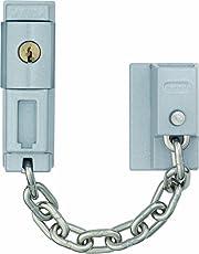 ABUS 39683 - Cadena para puerta con cerrojo (SK79 SB), color plateado