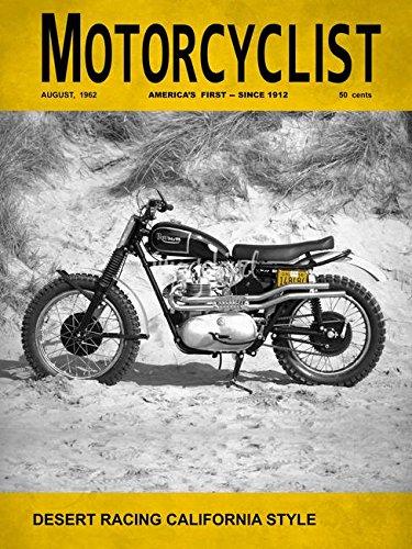 Imagekind Wall Art Print Entitled Motorcycle Magazine Desert Racing 1962 by Mark Rogan | 36 x ()