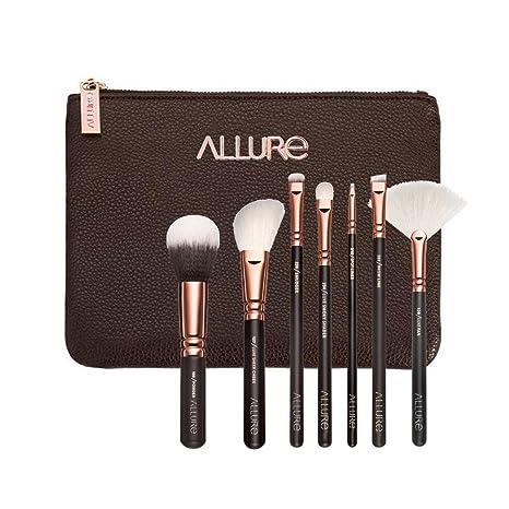Buy Allure Professional Makeup Brushes Kit (Rose Gold) - Set