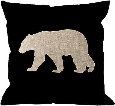 Amazon.com: HGOD DESIGNS - Funda de almohada con diseño de ...