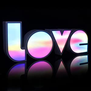 Love Sign Light for Wall Decor, 14