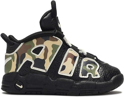 Presidente Descendencia Brillar  Amazon.com | Nike Air More Uptempo Qs (td) Toddler Cj0932-001 | Sneakers