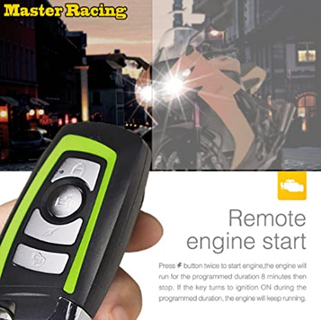 Amazon.com: scooter Master Racing Alarm Motorcycle Anti ...