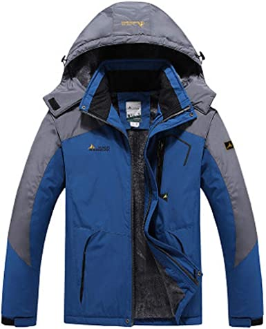 TACVASEN Veste Ski pour Homme Vestes Imperméable Chaudes