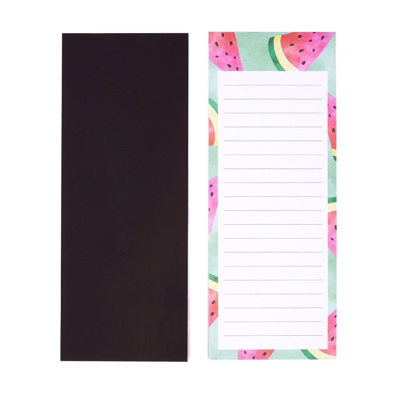 Juvale 6-Pack To Do List 3.5 x 9 Inches 60 Sheets Per Memo Pad Grocery Shopping Colorful Fruit Designs and Reminders Magnetic Notepads for Fridge