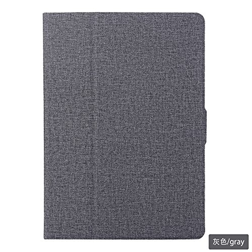 ChainPlus iPad Pro 10.5 Inch 2017 Case,[ Shock Absorbent ] phone case PU Leather Kickstand Wallet Cover Durable Flip Case for iPad Pro 10.5 Inch 2017 Grey by ChainPlus