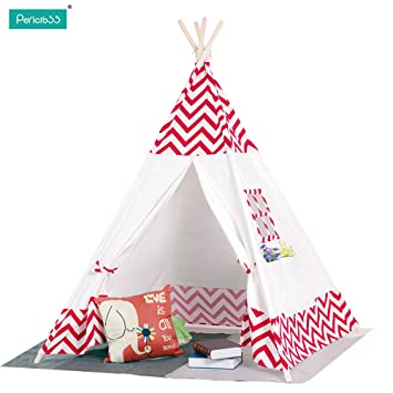 Pericross Children Teepee Kids Play Tent Indian Tent for Kid Indoor Play Ground Play House Tents  sc 1 st  Amazon.ca & Pericross Children Teepee Kids Play Tent Indian Tent for Kid ...