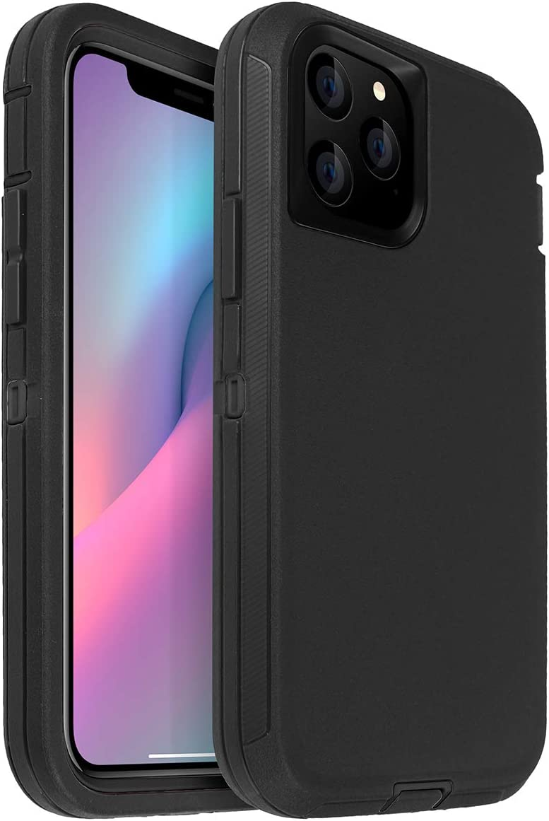 Amazon Com Aicase For Iphone 11 Pro Max Case 6 5 Drop Protection Full Body Rugged Heavy Duty Case Shockproof Drop Dust Proof 3 Layer Protective Durable Cover For Apple Iphone 11 Pro Max 6 5 Inch Electronics