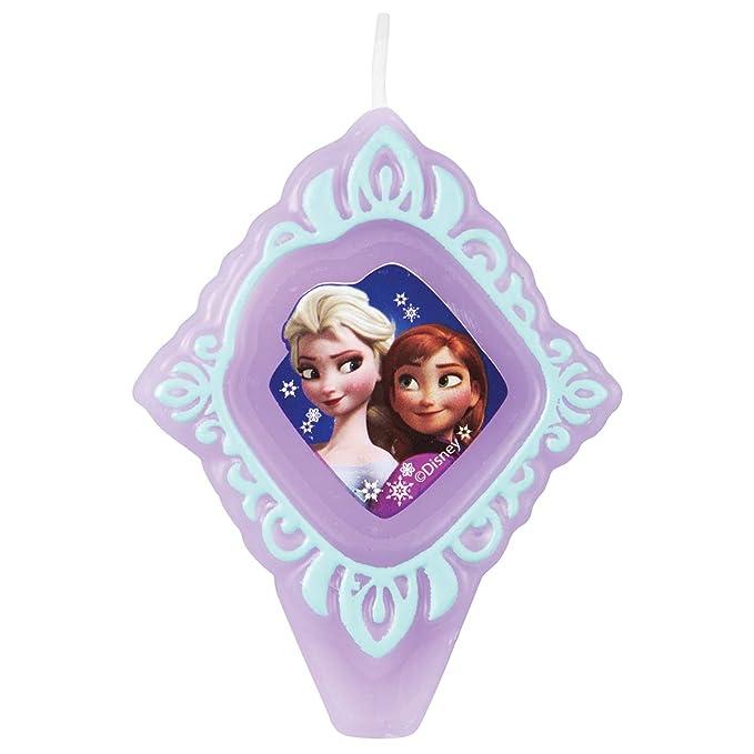 Amazon.com: Wilton 2811 – 4500 Disney Frozen vela de ...