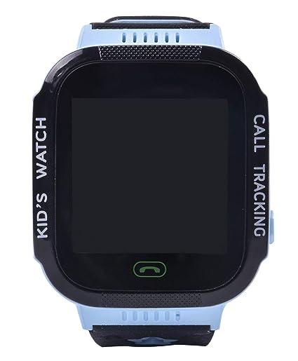 Aivtalk Reloj Inteligente para Niños con GPS Pantalla Táctil SOS Compatible con iOS Android Azul: Amazon.es: Relojes