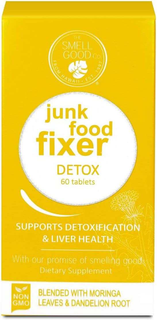 Amazon Com Junk Food Fixer Natural Detoxification Supplements Smell Good Company Health Personal Care