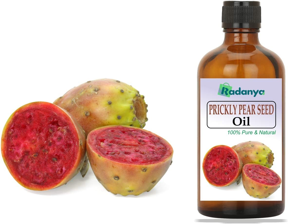 RADANYA Prickly Pear Seed Oil Essential Oils 100% Pure Natural Aromatherapy Oils 3ML-1000ML