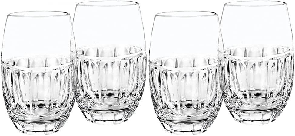 Bolton Stemless Wine Glass Set Of 4 By Waterford Wine Glasses