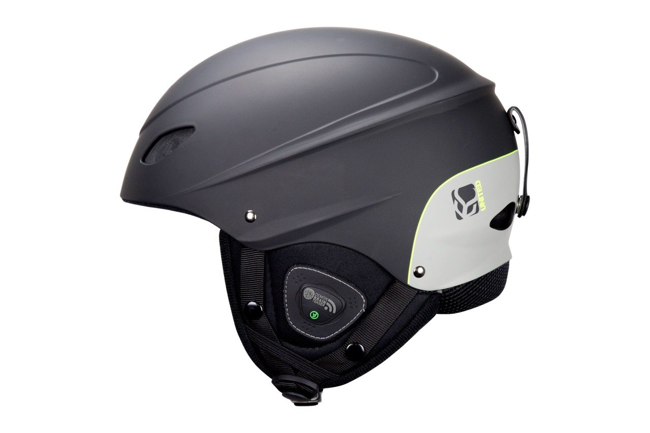 Phantom Helmet with Audio and Snow Supra Goggle