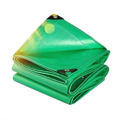 HRFHLHY Espesar PE Plástico Poncho Protector De Pantalla Al Aire Libre Cortina De Tela Ojal Plegable