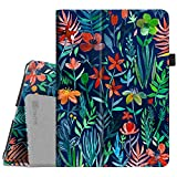 Fintie iPad 9.7 2018/2017, iPad Air 2, iPad Air Case - [Corner Protection] Premium Vegan Leather Folio Stand Cover, Auto Wake/Sleep for iPad 6th / 5th Gen, iPad Air 1/2, Jungle Night