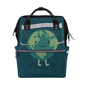 Ecológico Happy Earth Day Save Planet Bolsas de pañales de ...