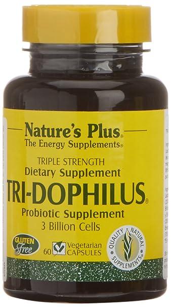 Tri-Dophilus Natures Plus 60 Caps