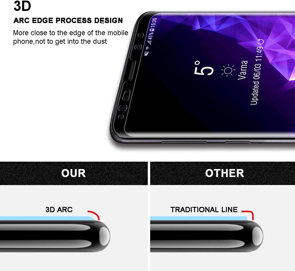 Tocol 1 lot de protection d'écran en verre trempé compatible avec ...